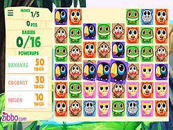 Animal Baby Bubbles game