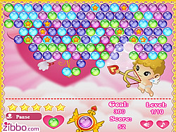 Cupid Bubbles game