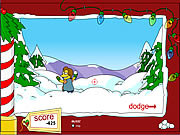 Play Springfield snow fight Game