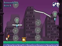 Charles Against the Aliens Invasors game
