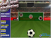 Goal Wall Shooting game