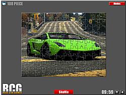 Lamborghini Jigsaw game