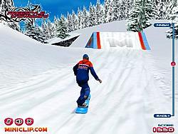 Spielen Sie das Gratis-Spiel  Freestyle Snowboard