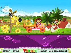 Dora Candy Transport game