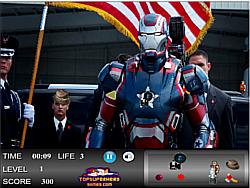Iron Man Hidden Objects game