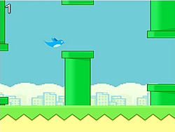 Flappy Blue Bird game