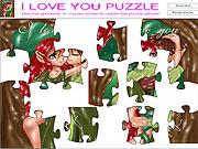 Jogar jogo grátis I Love You Puzzle