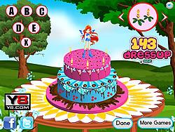 Winx Cake Decor game