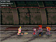 Attack of the Zombies game