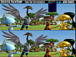 Master RainDrop Find The Differences game