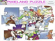 Jogar jogo grátis Pixieland Puzzle