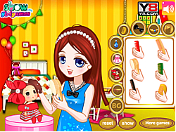 Jogar jogo grátis Dress Girl's Doll Hair
