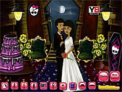 Monsterhigh Wedding Hall game