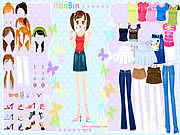Play Hanbin dress up Game