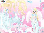 White Angel Dress Up game