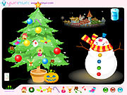 Play Christmas tree decoration Game