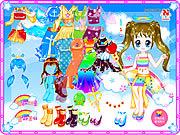 Florine doll dressup Spiele