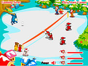 Play Snow throw Game