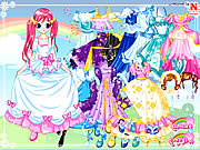 Lucy Gowns Dressup game
