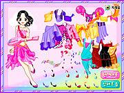 Belly Dancer Dressup game