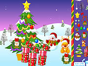 Christmas Snow World Decoration game