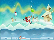 Play Santas gift jump Game Online