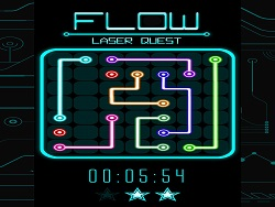 Flow Laser Quest game