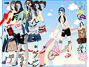 Play Scooter dressup Game