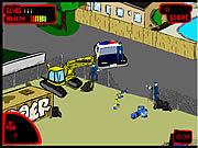 Anti Christ Robot game