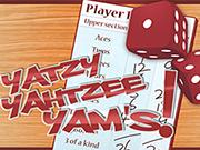Play Yatzy yahtzee yams Game