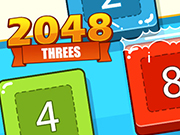 2048 Threes game