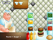 juego The Great Burger Builder