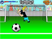 Johnny Bravo In Bravo Goalie game