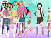 Play Winter dressup 4 Game