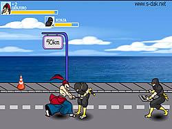 Genjuro Fight game