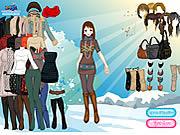 Play Sun snow dressup Game