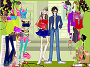 Play Rockstars dress up Game