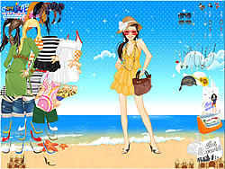 Summertime Dress Up game