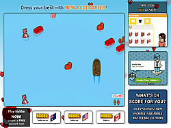 Habbo Luvboat game