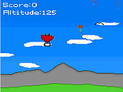 Play Sky diving man Game
