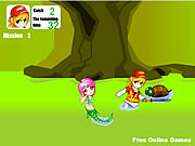 Play Mermaid rescue Game