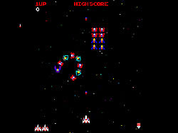 galaga flash game