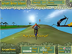 Permainan Stunt Bike Island