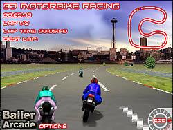 Permainan 3D Motorbike Racer