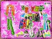 Play Ginger star dressup Game