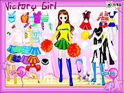 Play Victory girl dressup Game