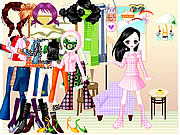 Play Funky cool dressup Game