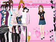 Summer fashion dressup Spiele