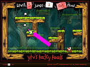 Play Tacky toads Game