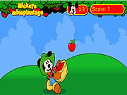Mickey's Apple Plantation game